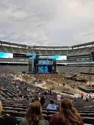 Ed Sheeran Metlife Stadium Seating Chart Metlife Stadium Section 131 Row 34 Seat 16 Ed Sheeran
