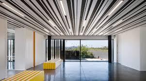 Linear Interior Design Linear Open Ceilings