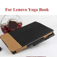 sd for lenovo yoga book 10 1 tablet pc ultra slim folding stand pu leather book