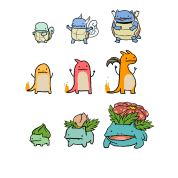 Pokemon Squirtle Evolution Chart Squirtle Charmander And Bulbasaur Evolution Chart Shirt T