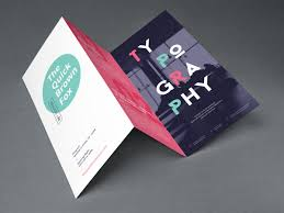 Fold Flyer Tri Fold Brochure Mockup Graphicburger