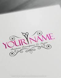Interior Designer Business Cards Fascinating Exclusive Logo Design Hair Salon Logo Images FREE Business Card