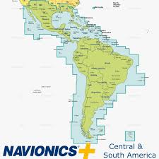 Navionics Caribbean Central And South America Inavx