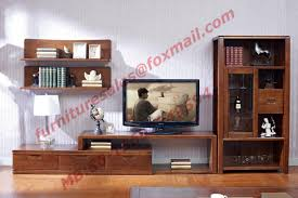 Wall Units Living Room Furniture Design Solid Wood Material Tv Stand For Wall Unit In Living Room