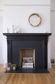 decorating ideas 5 ways black tiles can look amazing at home black fireplacetiled fireplacebedroom fireplacefireplace mantlesfireplace ideaswhite painted
