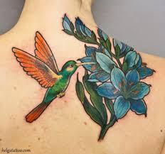 тату колибри 32 фото татуировок на разных частях тела