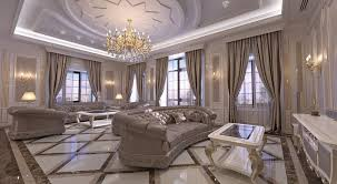 design classic lighting. Interior Design. Classic Style Living Room In The H Residenсe. Design Lighting R