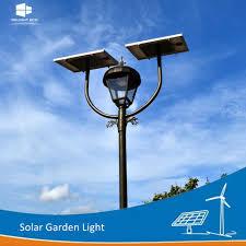 Manufacturer Ce/RoHS/FCC Single/Double <b>Lamp Park</b> Solar <b>LED</b> ...