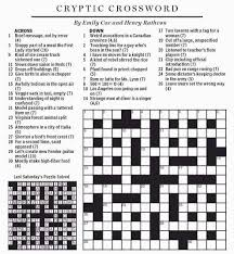 National Post Cryptic Crossword Forum Saturday June 28 2014