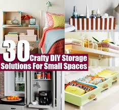 30 Crafty DIY Storage Solutions For Small Spaces | | Diycozyworld - Home  Improvement and Garden Tips