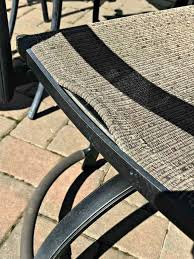 broken patio slings fix patio chairs patio chair repair