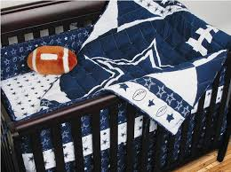 nfl dallas cowboys crib bedding 4pc football baby quilt bed in bag