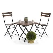 garden table and chair sets india. masai patio table set (teak finish) (black) garden and chair sets india