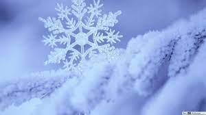 Single snowflake and snow HD wallpaper ...