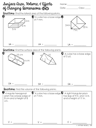 Surface Area & Volume of Prisms Unit | Mrs. Newell's Math