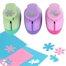 Flower Shaped Paper Punches Yazycraft Retro Flower Angel And Snowflake Shaped Paper Punch 3 Pack