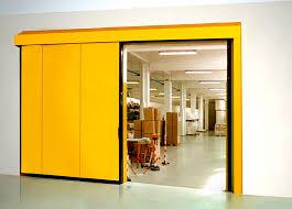 sliding door metal indoor industrial