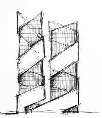 simple architectural drawings. Architectural Sketches Part 1 By Scoly01 , Via Behance Simple Drawings