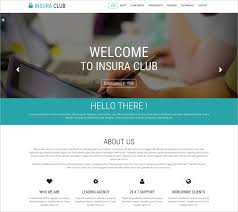 One Page Website Template Enchanting 48 Insurance Website Themes Templates Free Premium Templates