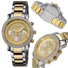 akribos xxiv men s and women s watches 79 for akribos xxiv women s stainless steel diamond chronograph bracelet watch two tone gold silver 675 list price