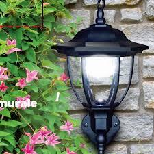 solar light led garden porch lights motion sensor wall lamp 4leds pir sensor led solar lamp outdoor