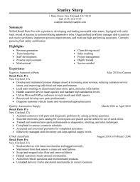 cool design ideas automotive resume 6 11 amazing automotive resume examples  - Areas Of Expertise Resume
