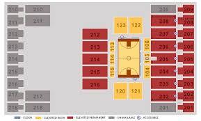 Alerus Center Seating Chart Seating Charts Alerus Center