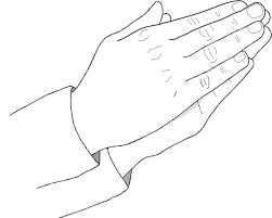 Small Picture Praying Hand Coloring Page Coloring Sky