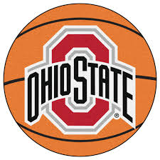 ohio state buckeyes basketball area rug contemporary novelty rugs by team sports