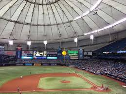Tropicana Field Section 113 Home Of Tampa Bay Rays