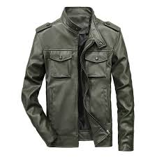 2019 cross border spring and autumn men s casual jacket men s leather europe and america casual motorcycle jacket men s leather jacket brand