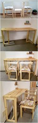 pallet furniture designs. Pallet Chairs And Table Furniture Designs E