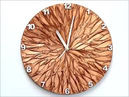 unique wall clocks copper art wall clock unique wall clocks unusual large wall clocks uk
