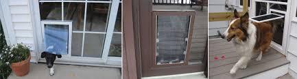 pet doors put right in your glass or screen doors