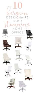 durable pvc home office chair. 10 bargain desk chair ideas for a stunning home office durable pvc