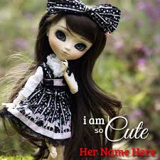 dolls write your name pictures