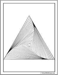 Small Picture Free Printable Geometric Coloring Pages Source Cool Geometric