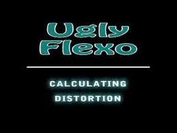 Flexographic Pre Press Calculating Distortion Factors