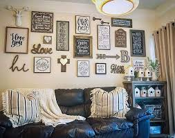 living room diy wall décor project with es in frames for big wall
