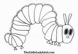 Big Hungry Caterpillar Coloring Pages Very Hungry Caterpillar