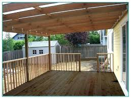 how to build a roof deck build a roof over a deck bunch ideas of how