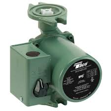 Taco Pump Flow Chart Taco 1 20 Hp 3 Speed Circulating Pump With Integral Flow Check