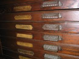 antique hamilton manufacturing printers cabinet dave s archive telephonearchive dmwork