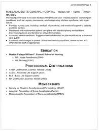 nurse anesthetist resumes crna cover letter intern cover letter sample experience