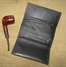 comoy s leather pouch