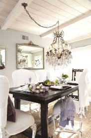 enchanting swag chandelier over dining table hd regarding your property