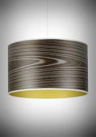 designer pendant lighting. Open Grain Grey Drum Pendant | Designer Ceiling Lights│Storm Lighting - The Light Yard D