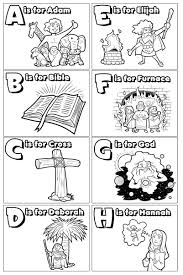 I've been working on some ABC's of the Bible coloring pages ...