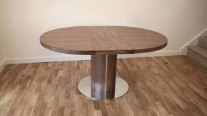 round walnut dining table. Round Walnut Dining Table Farmhouse Opened To Its Inch Configuration With O