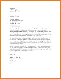 5 Application Letter For Scholarship Grant Sample Biodata Sample